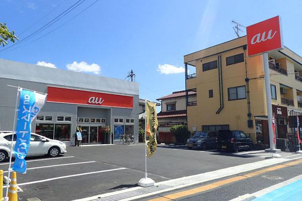 松山営業所・auショップ松山中央リニューアルオープン